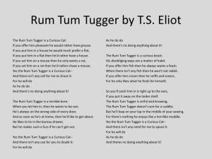 9 Year Old Pens Her Rum Tum Tugger Poem North West